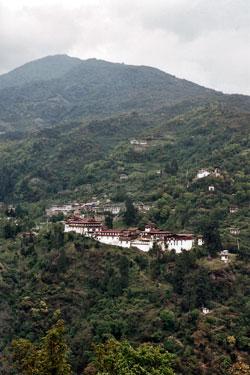 Trongsar dzong