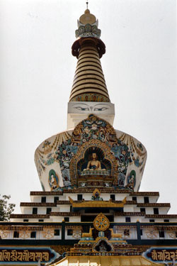 Temple built by Kalu Rinpoche