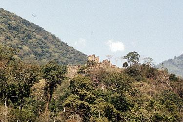Ruined dzong