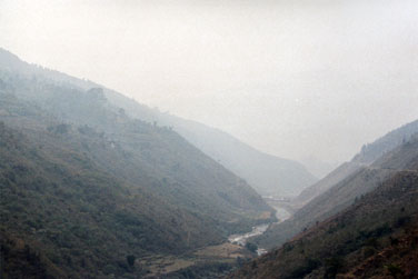 Smoke filled valley