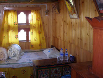 The chief lama's bedroom