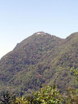 Yongla monastery from below