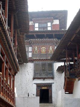 Dzong temple