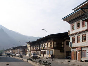 Paro main street