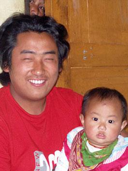 Dorji & daughter