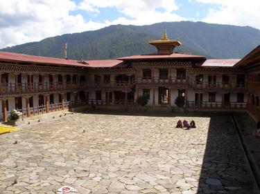 Nunnery courtyard