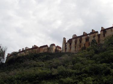 Ruins of Wangdue Dzong