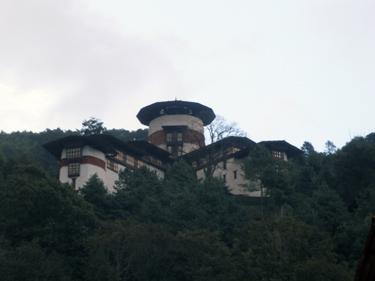 Trongsa watchtower