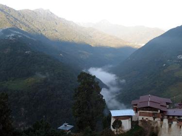 Trongsa valley