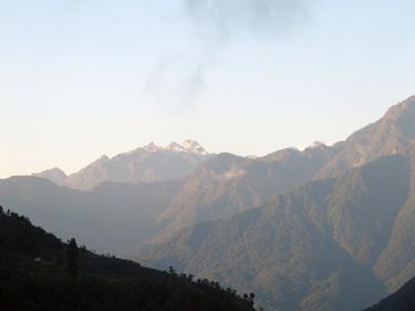 Distant peak
