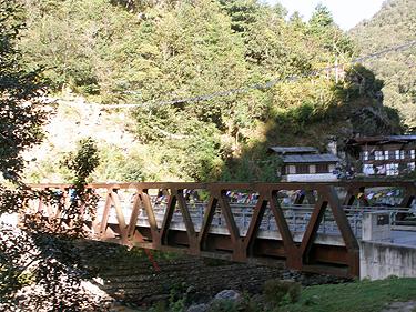 Trongsa bridge