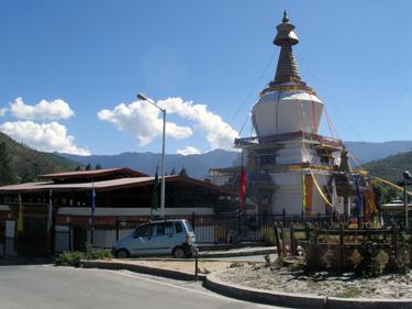 Chorten in Thimphu
