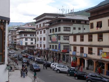 Thimphu main street