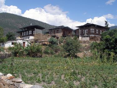 En route to central Bhutan