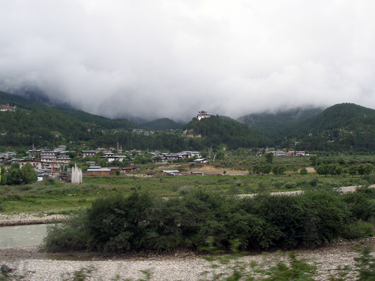 Jakar town