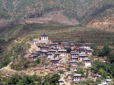 Town near Wangdue
