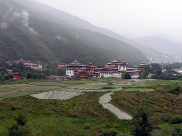 Government building in Thimphu