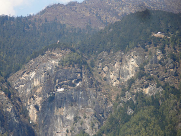 Taktsang in the distance