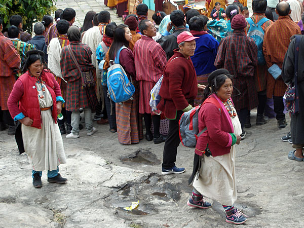 Brokpa people who have come down the high places