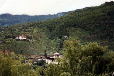 View of Paro