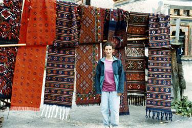 Sheila & traditional fabrics