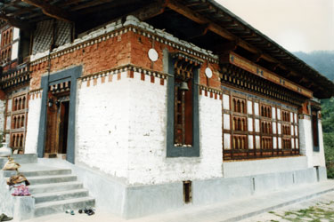 Guru Rinpoche temple in Bumthang