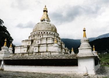 Chorten Kora at Tashi Yangtse