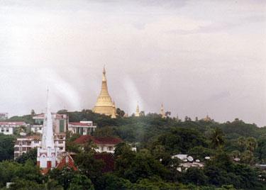 Schwedagon temple complex