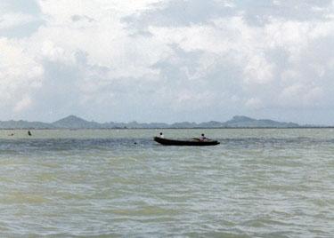 River en route to Mrauk U