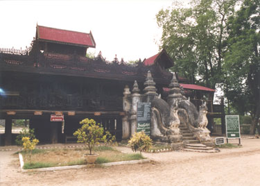 Teak temple