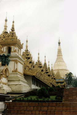 Schwedagon temple Rangoon