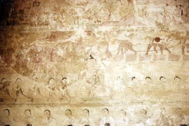 Mural in stupa