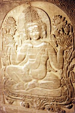 Buddhist relief
