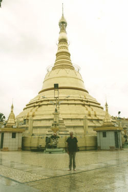 Derek says farewell to Schwedagon
