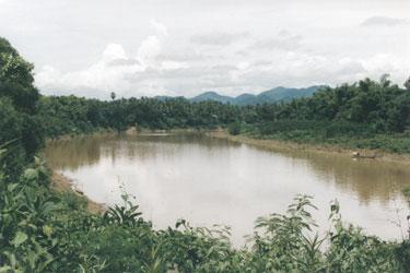 River near Siem Reap