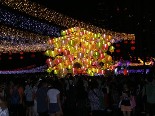 Illuminations in Victoria Park