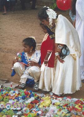 Locals celebrating Eid