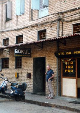 Derek at Gokul bar