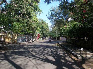 Leafy Mylapore suburb