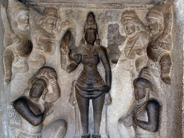 Temple relief