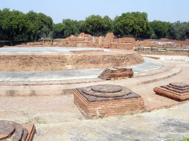 Ruins at Sarnath