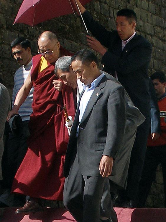 H H The Dalai Lama