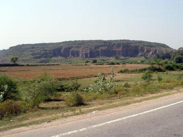 En route to Varanasi