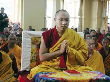 H H Gyalwa Karmapa Rinpoche XVII