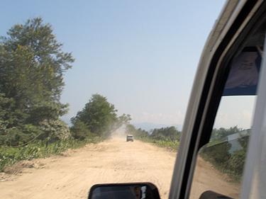 Road in Assam