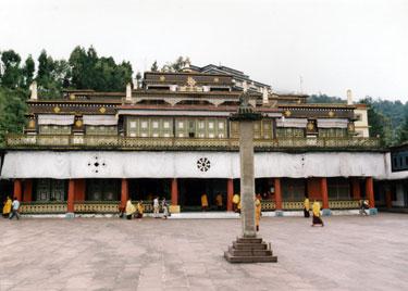 Rumtek Buddhist monastery in Sikkim