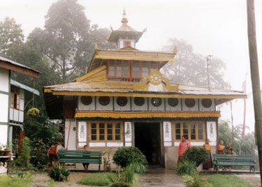 Small temple