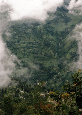 Valley in Sikkim
