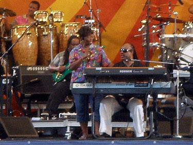 Stevie Wonder & Irma Thomas