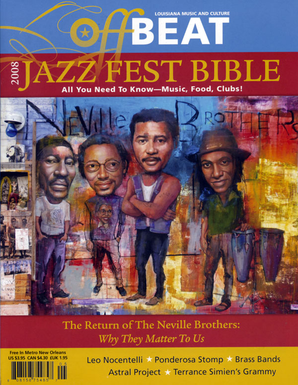 Jazzfest Bible cover